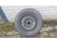 165x65×14 Barum Car tyre - never used - from Renault clio
