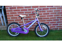 Girls Bike (age 4 to 8 years)