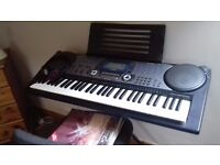 Casio Keyboard, Stand and Chair
