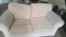 2 seater sofa, free to collect