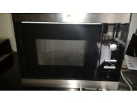 AEG - Electrolux MC1751E - M Built in Microwave for Parts (not functional)