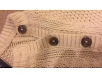 Woollen gap jumper