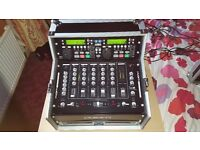 Kam DJ decks and mixer combo. ideal for mobile DJ or pub club disco, plug in your laptop or phone