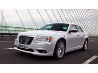PCO CAR FOR HIRE / UBER EXEC READY £175 pw / CHRYSLER 300c DIESEL AUTO