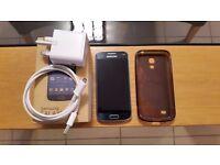 Samsung Galaxy S4 Mini Black on Tesco mobile