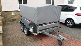 Car trailer hardly used twin axle