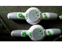 PAIR OF Leapfrog remote controllers