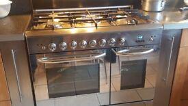 Designer duel fuel baumatic range cooker