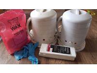 2 1000cc Waxing Pot
