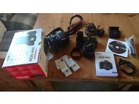 Canon EOS 600D DSLR camera EF-S 18-55mm IS II USM lens Bundle