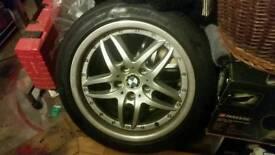 """4x e39 split rims 17"""" BMW wheels"""