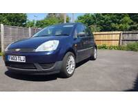 2003 Ford Fiesta 1.4 tdci, 12months mot, £30 road tax per year.
