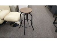 Julian Bowen Spitfire Industrial Stool Can Deliver