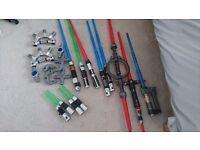 Large light saber collection
