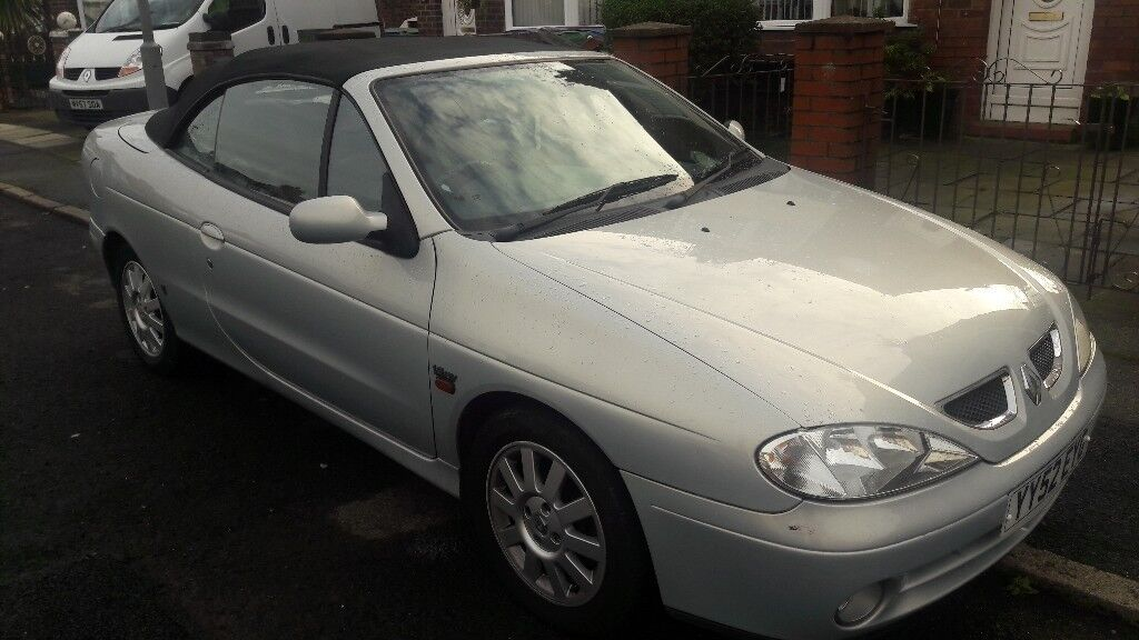 Renault Dynamique Cabrio runs and drives mot 9th march 18