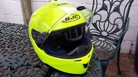 HJC full face motobike helmet