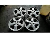 "Toyota corolla 15"" alloy wheels (auris, verso,)"