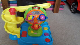 For sale used Fisher Price Twirlin' Whirlin' Fun Park Baby Toddler Small Child Toy Activity