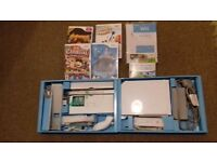 Wii games console bundle with balance board.