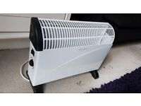 Heater with thermostat, 1 yr old, perfect condition.Make a bargain now instead paying more in winter