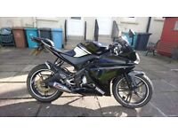 Yamaha YZF-R125 2009 48k miles *new engine with 15k miles*