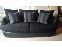 Fantastic 3 seater sofa & cushions
