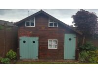 ***SOLD AS IT STANDS*** Wooden children's playhouse