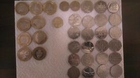Coin collection rare coins british coin hunt pound 2 pound 50p £ pence