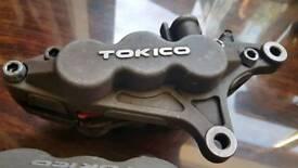 Tokico front brake calipers pair Kawasaki 636 ninja zx6r