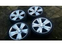 22 Inch Wheels and tyres - Mercedes ML - 5x112 fitment