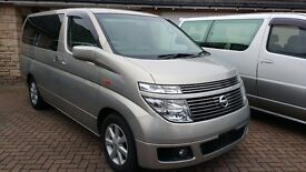 4 wheel drive optional 8 Seater Estate/MPV/Camper with low mileage and in excellent condition