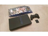 Playstation 2 & Games with Memory Card