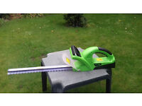 CHALLENGE CORDLESS HEDGE TRIMMER £20