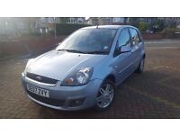 2007 Ford Fiesta Ghia 1.4 TDCI, Full leather interior, £30 ROAD TAX (no corsa, focus,golf,astra)