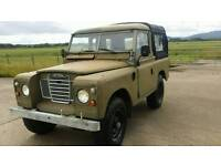 1978 Land Rover 88 Pick up Light 4x4 Utility