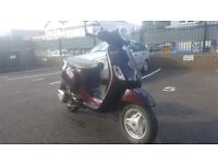 Vespa 125cc Douglas 2013 6800 km £1500