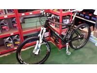 Scott carbon fibre mountain bike