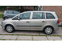 2007 Vauxhall Zafira one lady owner,l nice 7 seater family car