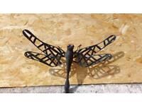 Garden Wall art dragonfly metal new