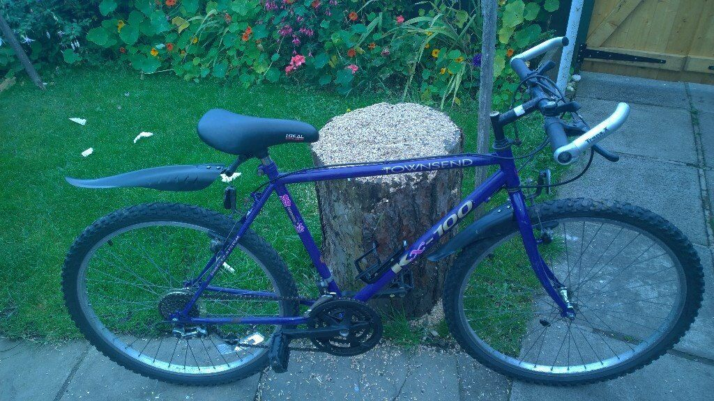 GENTS BIKE FOR SALE, ALL WORKING FINE WITH NEW LIGHTS, MUD GUARDS, GEL SEAT COVER £40 THROSK