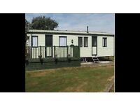 3 BED 8 BIRTH CARAVAN IN CLACTON ON SEA TO RENT