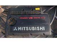 Mitsubishi FTO engine cover Mivec