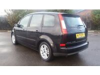 FORD C-MAX 1.6 MANUAL IN CLEAN CONDITION. MOT FEBRUARY 2018. 2 OWNERS. ALL PREVIOUS MOT AVAILABLE