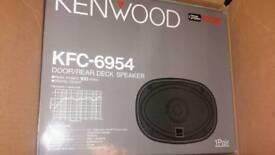KENWOOD KFC -6954 CAR SPEAKERS