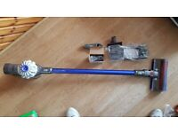 used dyson v6 fluffy new charger new tools new Handheld Wall Mount Bracket Docking Stat