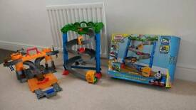 2 x Thomas Tank Engine Take n Play / Portable Playsets