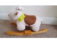 Raindeer rocking horse