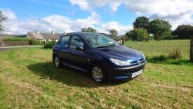 Late 2003 peugeot 206 mot until august 2018