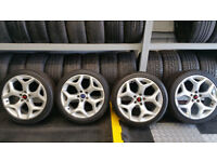 Ford Genuine ST 18 alloy wheels + 4 x tyres 224 40 18