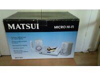 Micro Hi-Fi (matsui) mcf301